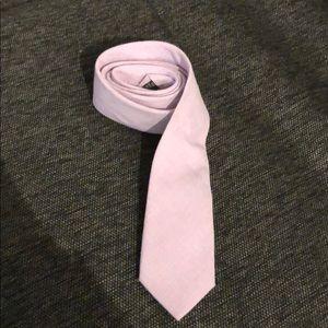 Filthy etiquette light pink tie